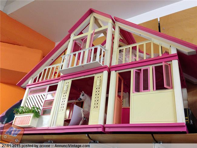 Villa di barbie casa dei sogni camper di barbie for Progetti di casa dei sogni