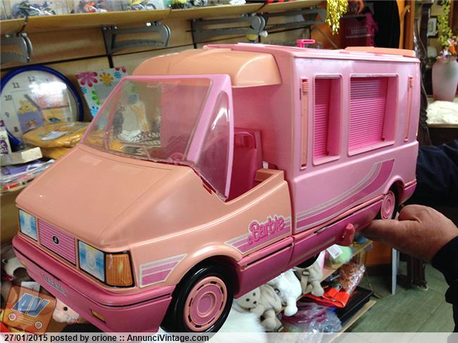 camper di barbie anni 90