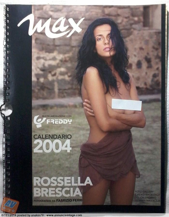 Rossella Brescia Calendario.Rossella Brescia Calendario 2004 Max Nuovo