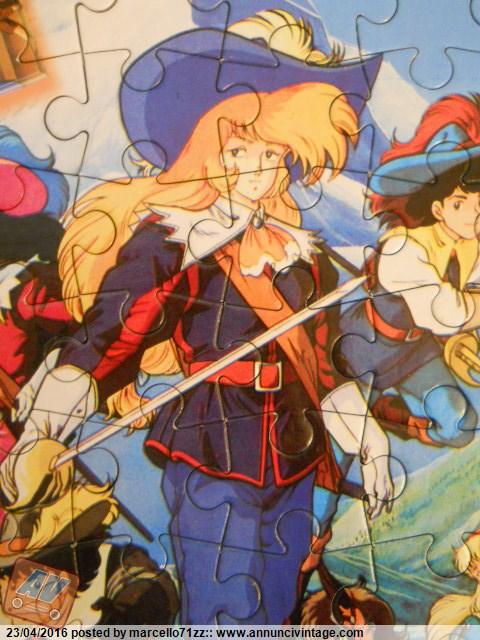 D`artagnan e i moschettieri del re anime sanjushi