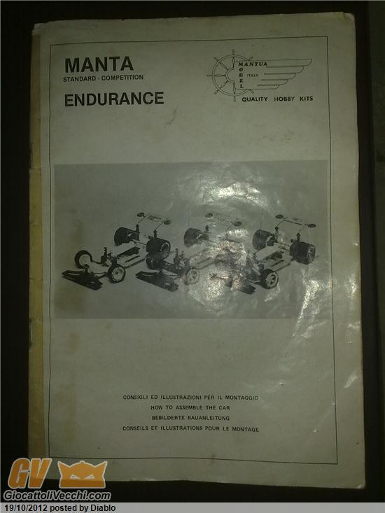 Mantua model rarissime istruzioni manta endurance anni 70 - Mantua bagni catalogo ...